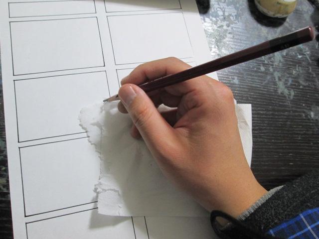 漫画,下描き,描き方
