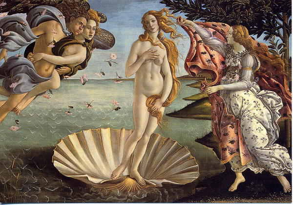 ルネサンスを代表するボッティチェリの絵画