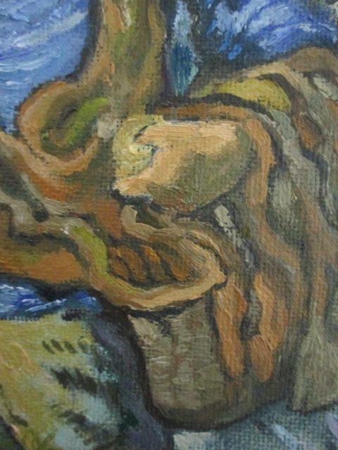 粕川が模写した種まく人の画像