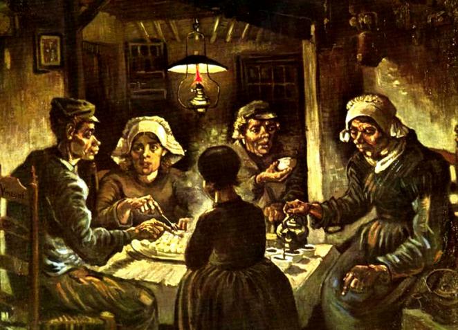 ゴッホの描いた農民画の傑作