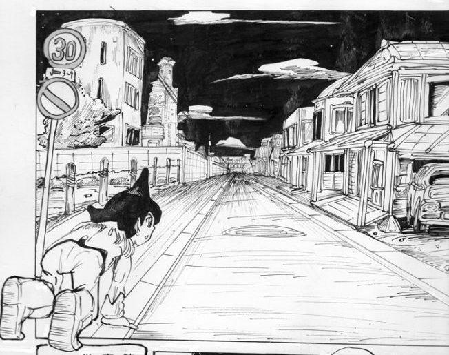 「無人の街」より