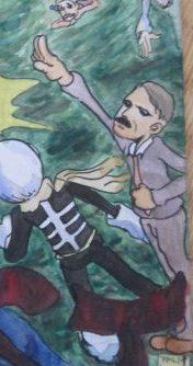 ヒトラーのイラスト