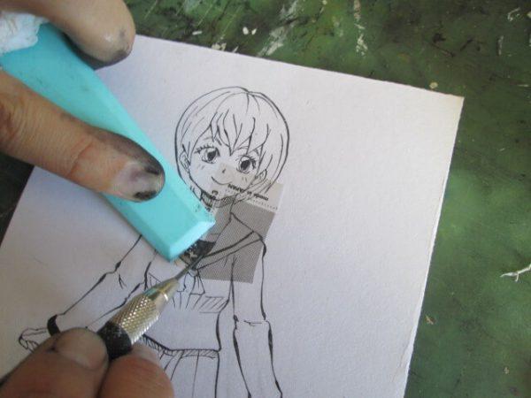 漫画道具アナログ トーンヘラ