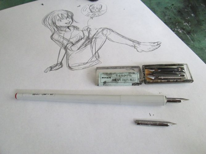 スクールペンとカブラペンの違い