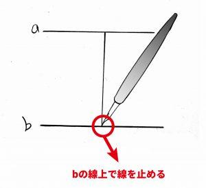 漫画 つけペン 練習 イラスト 005