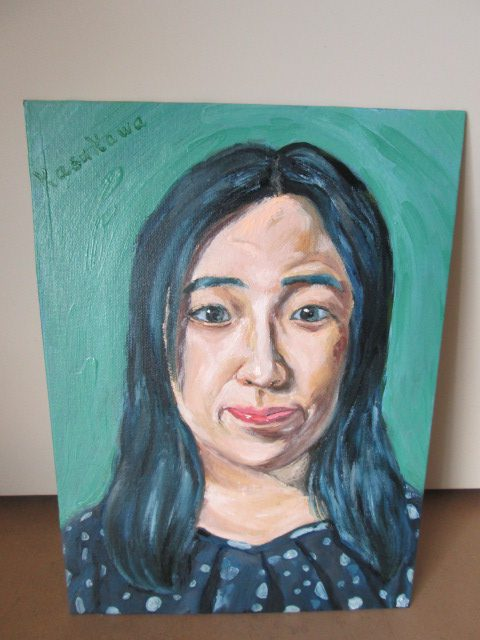 女性の肖像画の画像