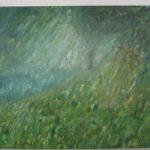 幻想の森 油彩