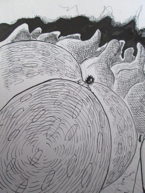 漫画アート「幻想の森」の1シーンの画像