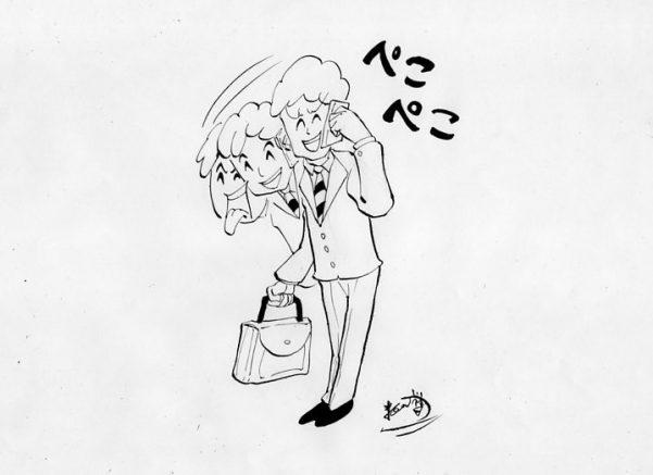 四コマ漫画,ネタ,営業マン