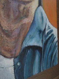 イノッチの肖像画の首の部分