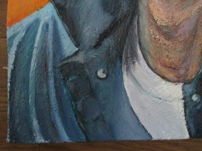 イノッチの肖像画の部分画像