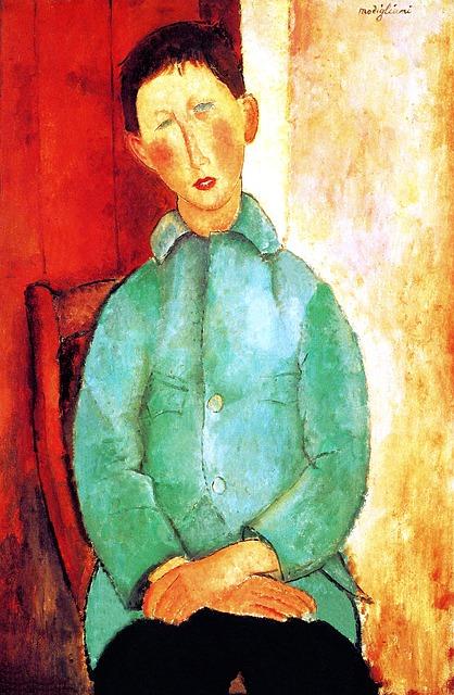 モディリアーニ,絵画