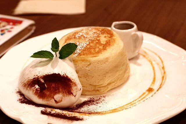 ホットケーキのある画像