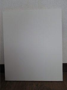 白いキャンバスの画像
