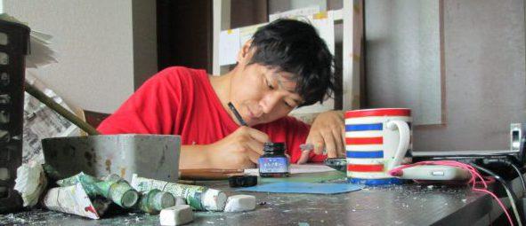 幼年時代,芸術家