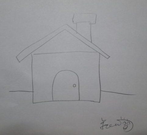 家を描いたイラスト