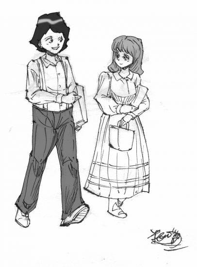 大草原の小さな家 アルバート ある少女