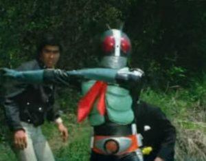 旧2号仮面ライダーの画像