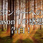 アボンリーへの道 season 1 感想