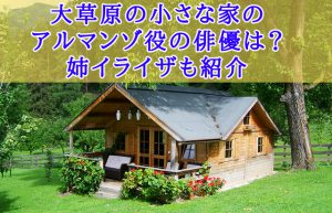 大草原の小さな家 アルマンゾ イライザ