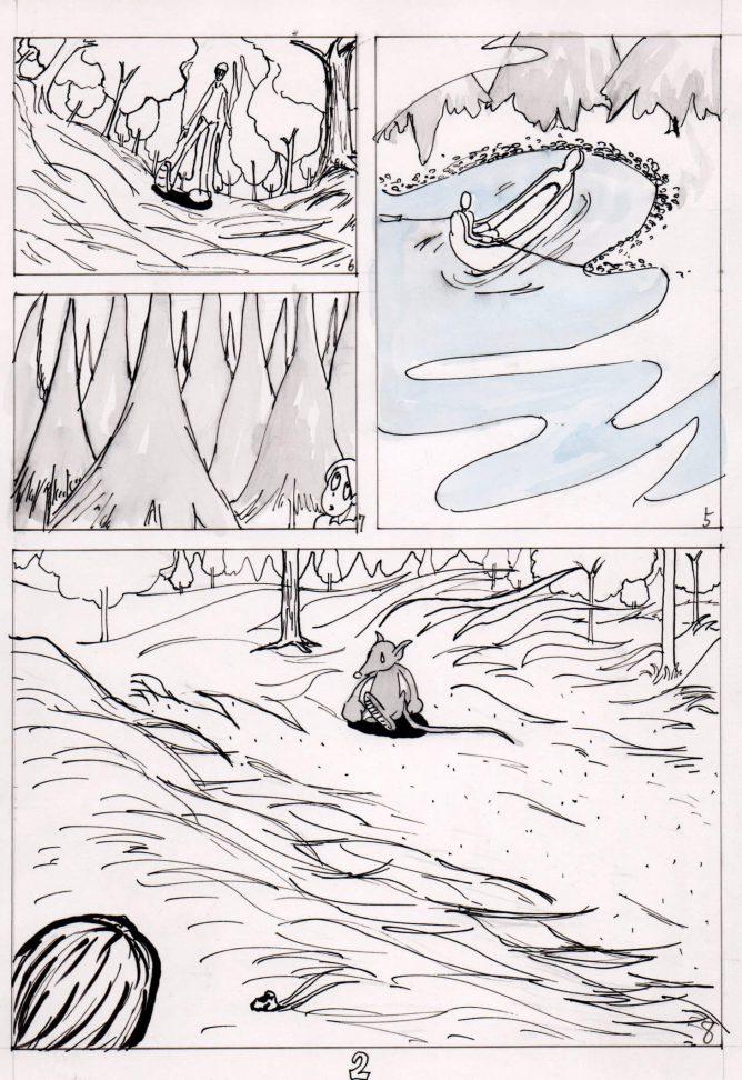 ノルウェーの森 漫画002