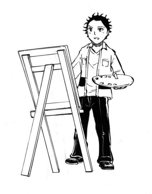 画家,主人公,漫画