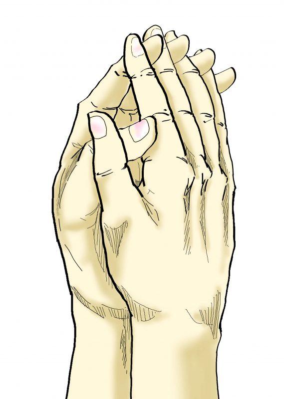 あまのさきて(天乃咲手)印のイラスト