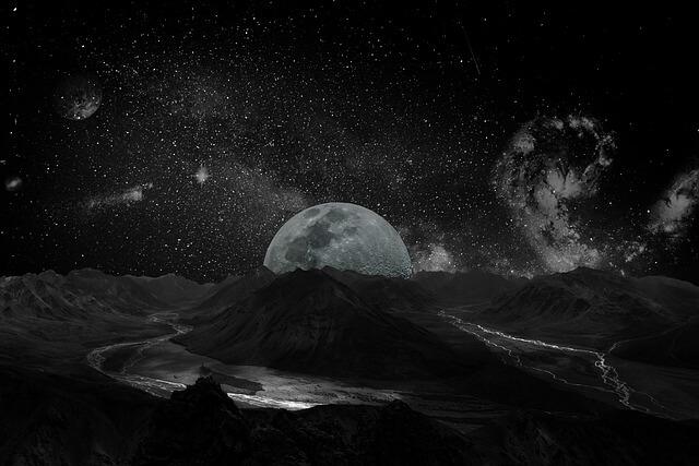 月世界の画像