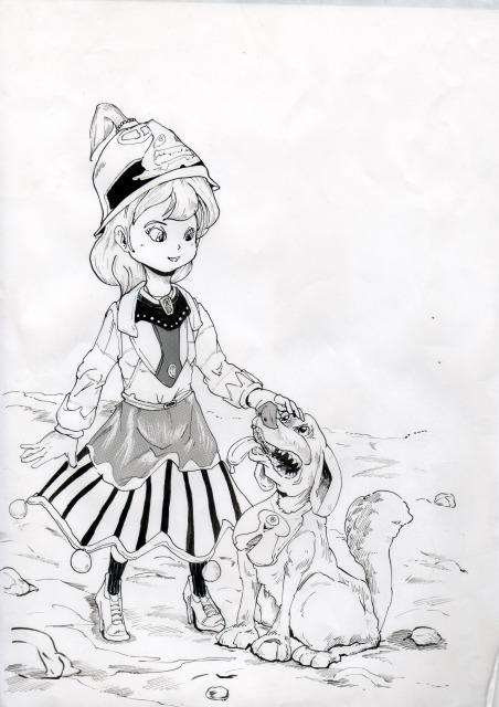 魔法少女,イラスト