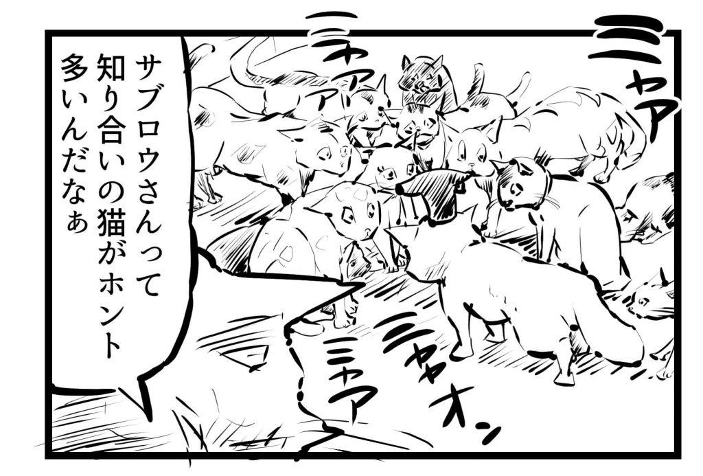 猫,漫画,ツイッター,1コマ漫画連載,37回~44回